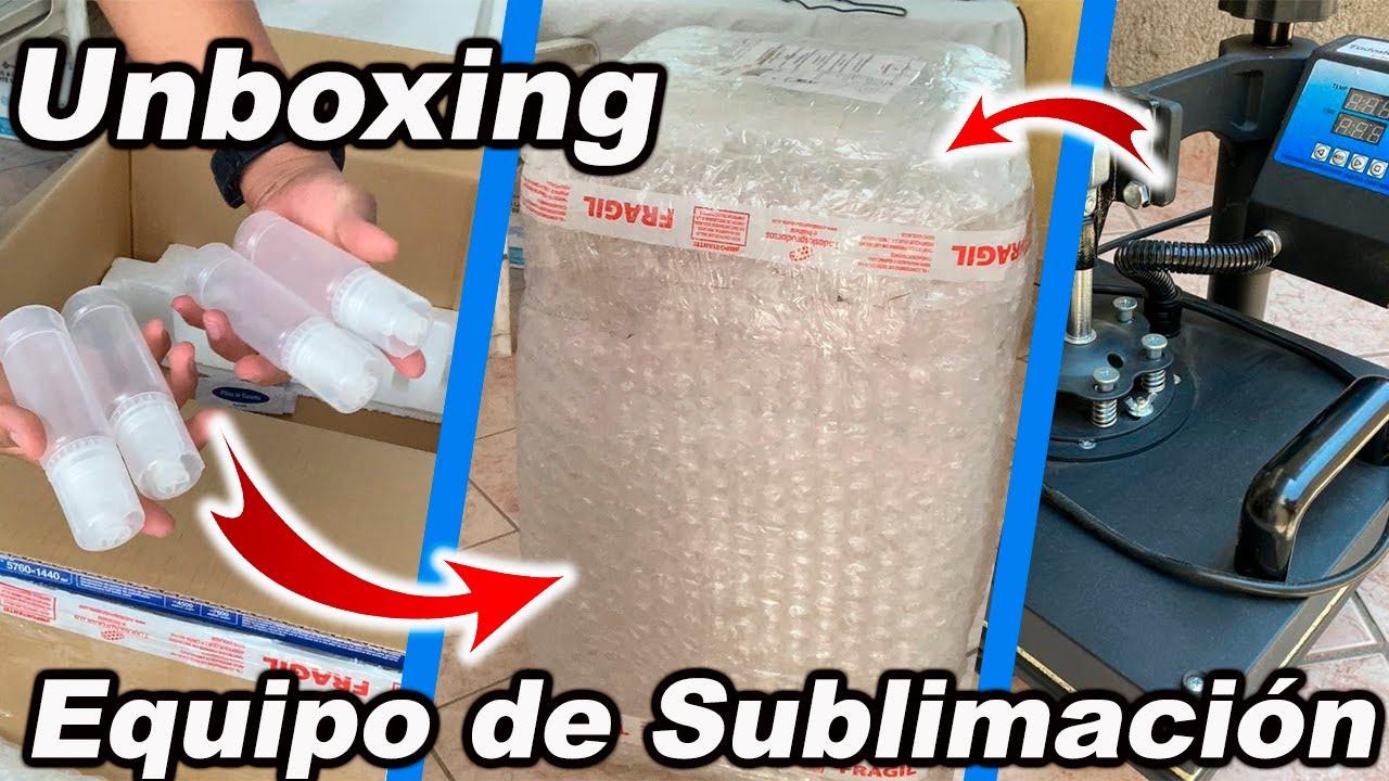 Equipo de Sublimación - Plancha para sublimar | Uxboxing