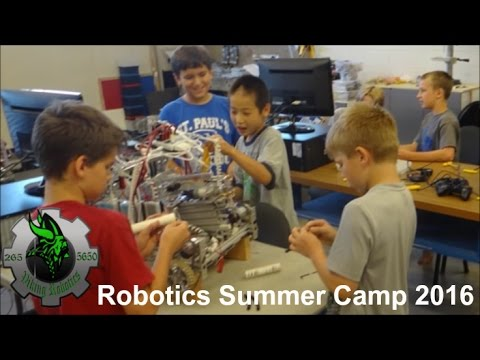 Robotics Summer Camp 2016