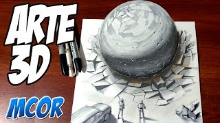 Dibujando un Meteorito en 3D