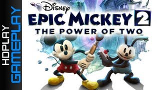 Epic Mickey 2: The Power of Two - Gameplay (XBOX360/PS3/PC/WiiU)