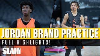 Cole Anthony & Anthony Edwards TEAM UP!? Jordan Brand Classic Practice Highlights 🔥