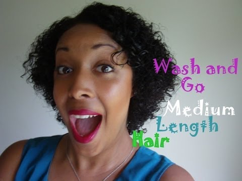 Wash And Go For Natural Black Hair
