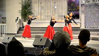 the battle is not yours divine praise dancers