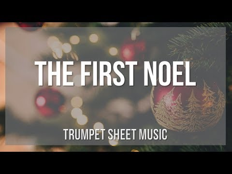 EASY Trumpet Sheet Music: How to play The First Noel by John Stainer