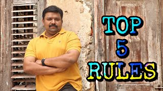 TOP 5 RULES TO ACHIEVE  SUCCESS IN LIFE | GOPINATH | TAMIL