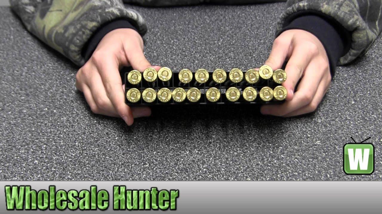 Hornady 405 Winchester 300gr Soft Point Per 20 8241 Ammunition Unboxing