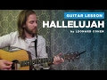 "How to play ""Hallelujah"" by Leonard Cohen / Rufus Wainwright (Guitar Chords & Lesson)"