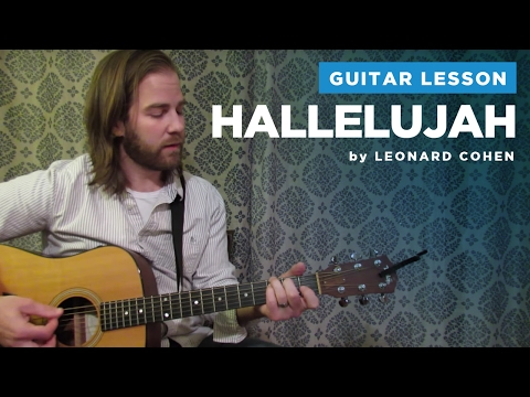How to play Hallelujah  Leonard Cohen  Rufus Wainwright Guitar Chords & Lesson