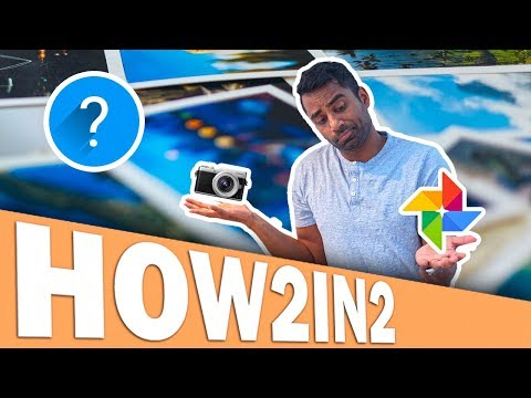 Backup Your Pictures for FREE in Google Photos  (2 MINUTE TUTORIAL)