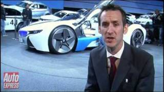 BMW Vision EfficientDynamics Concept Videos