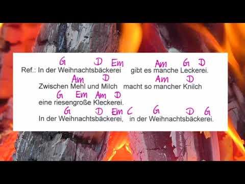 In der Weihnachtsbäckerei - Weihnachtslied  - Campfire Version - Musikschach