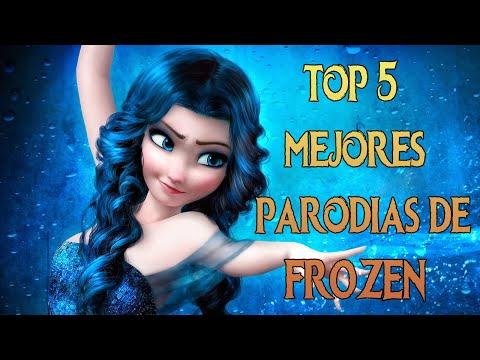 FROZEN I TOP 5 MEJORES PARODIAS DE FROZEN [MUNDO DISNEY]