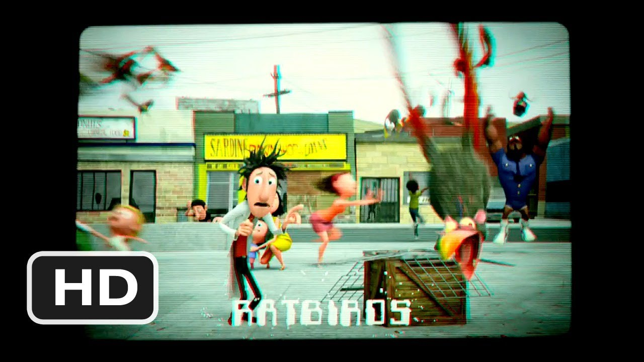 Cloudy With A Chance Of Meatballs 3 Movie CLIP