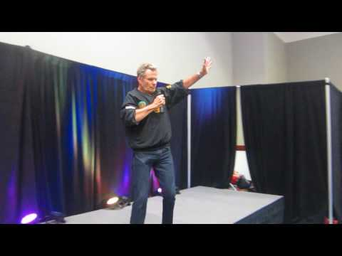 Martin Kove Cobra Kai John Kreese  Karate Kid , Johnny Lawrence at FSCW July 2017
