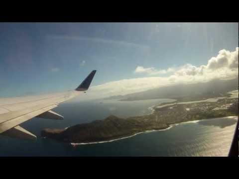 737 Takeoff from Kaneohe bay