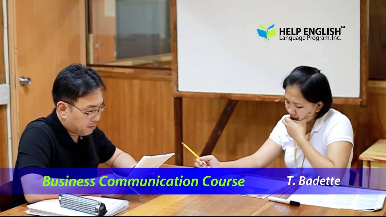 【Go Education】菲律賓遊學 Help 語言學校 商業英文課程實況 - YouTube