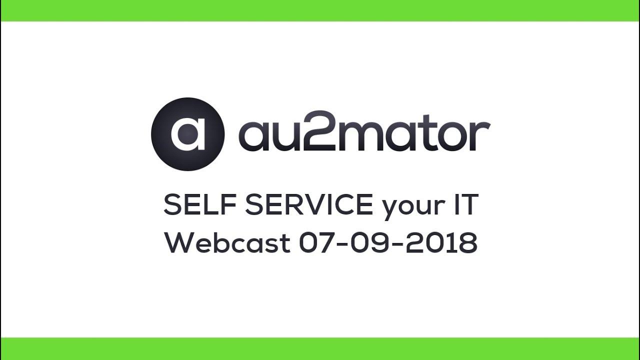 au2mator – Self Service Portal – au2mator – Self Service Portal