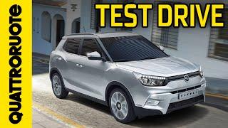 Ssangyong Tivoli 2015 Test Drive