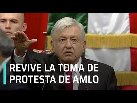 Toma de protesta de AMLO, las mejores imágenes - Transición 2018
