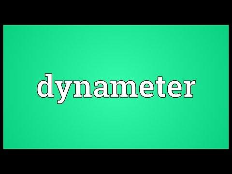 Header of dynameter