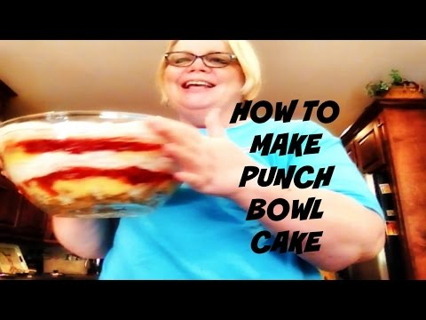 Punch Bowl Cake Recipe