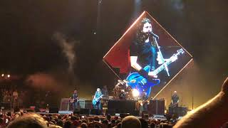 Foo Fighters- Dave Grohl talks about returning to Tampa on 04/25/18