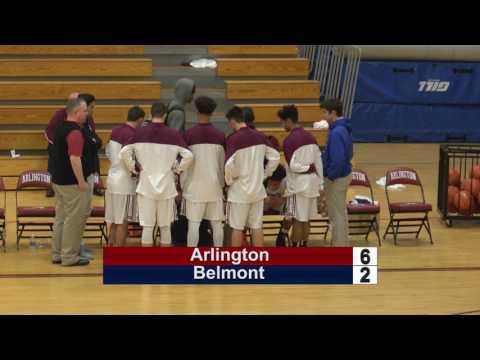 Arlington High School Boys Basketball vs Belmont - January 3, 2017