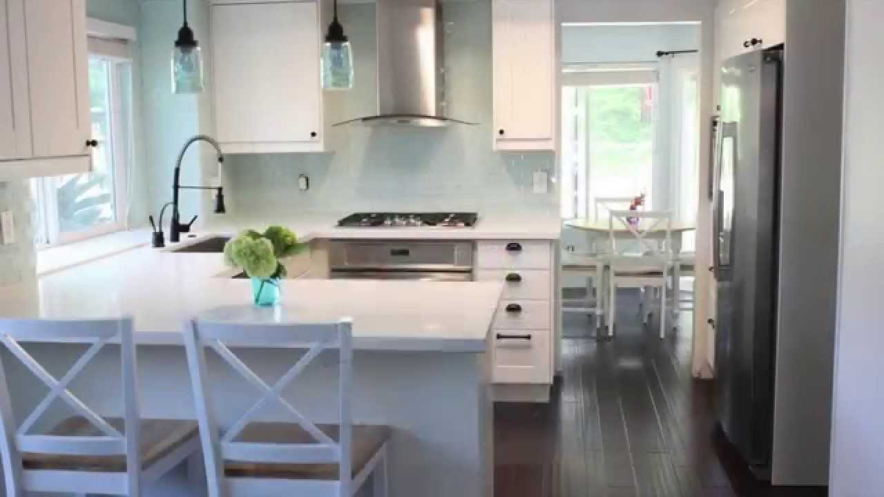 nice Ikea Kitchen Remodel Before And After #3: IKEA Kitchen Before u0026 After | San Marcos, CA | Kitchens By Design - YouTube
