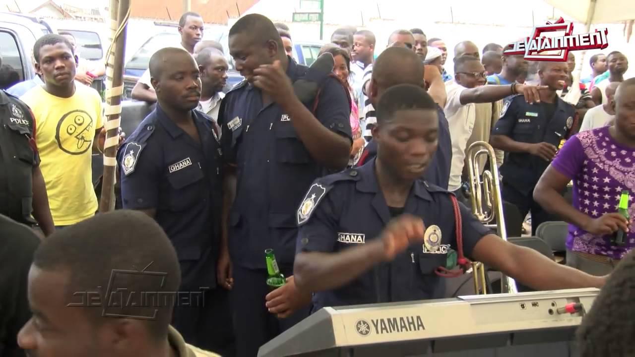 "Download Ghana police dance to Shatta Wale's ""Kakai"" song"