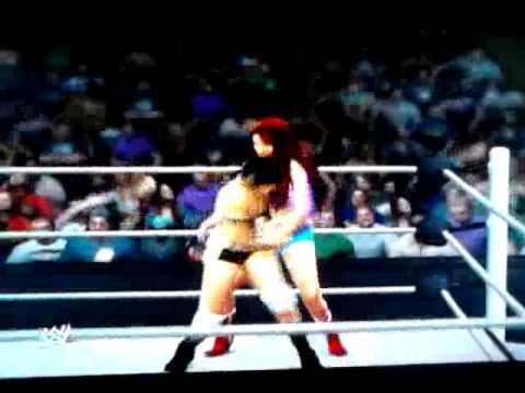 WWE'13 Universe Mode Kayla vs. Ashley McCarthy