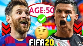 WHAT IF MESSI AND RONALDO NEVER RETIRED?!? FIFA 20 Experiment
