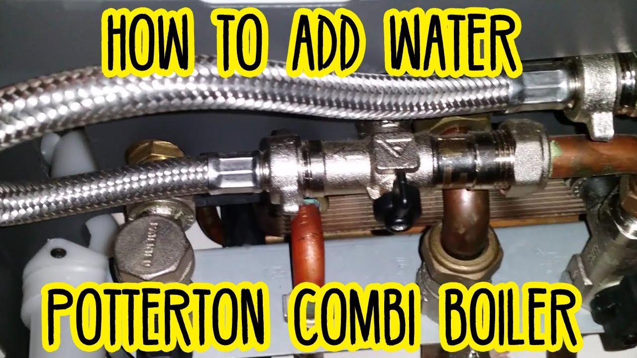 zone valve wiring diagram waterfall model how to add water (pressurise) a potterton combi boiler central heating e119 error code - youtube