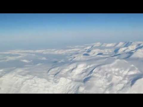 Flying over the Transantarctic Mountains