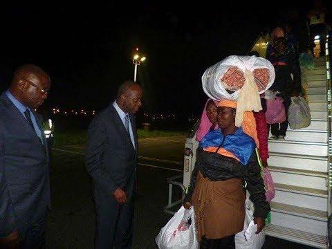 168 migrants ivoiriens rapatriés de la Libye arrivés lundi nuit à Abidjan