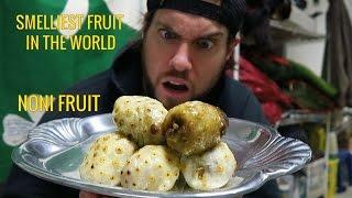 L.A. BEAST vs NONI FRUIT (World's NEW Smelliest Fruit)