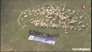 Tour de France Pra Loup - opération Laissez-nous VIVRE sur France 2