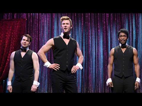 Chris Hemsworth Dresses In Drag & Strips for Saturday Night Live