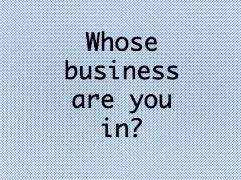 Whose business are you in? | Geeta B Bhansali