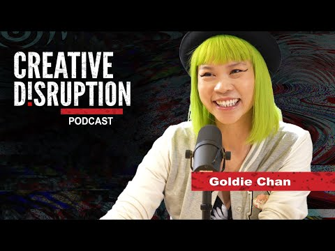 Goldie Chan & Linkedin Video - Creative Disruption Podcast