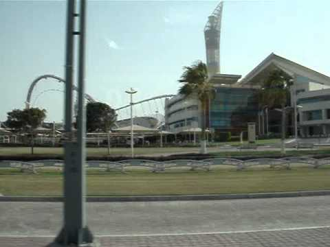 doha 10.06.2011 aspire tower and khalifa international stadium