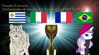Curiosidades de la copa del mundo de la FIFA (Loquendo) Parte 1.5