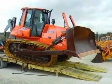 DOZER FIAT KOBELCO D180 power steering  .AVI