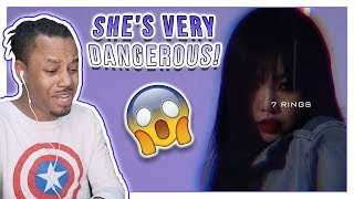 Reacting To (G)I-DLE 수진 (SOOJIN) - 7 Rings [Dance the X]