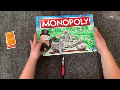 Настільна гра Hasbro Класична Монополія оновлена (українська) (C1009_657) (5010993432066)