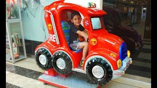 WHEELS ON THE BUS Song -Ride on Bus Kids Fun Play