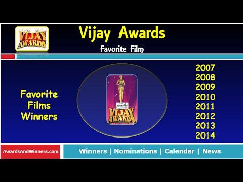 Annual Vijay Awards -  Favorite Films (2006-2014)