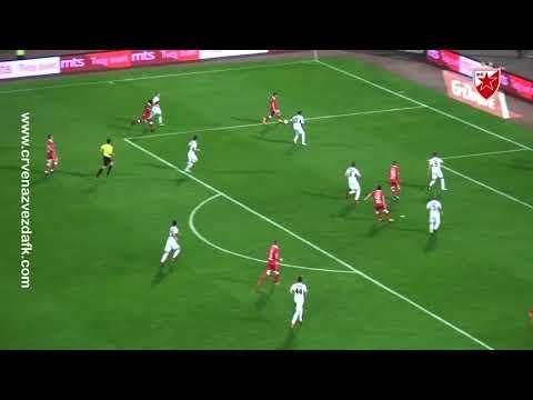 Crvena Zvezda - Voždovac 5:1, highlights