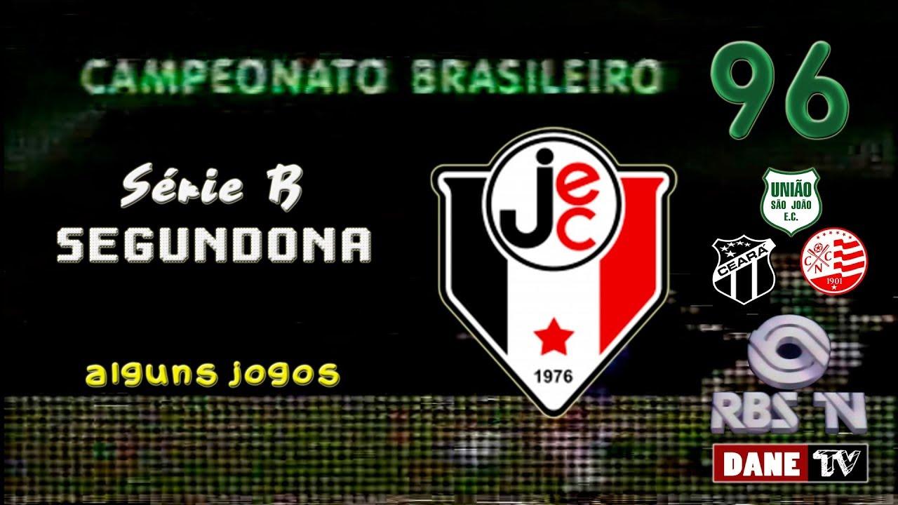 Brasileirao 1996 Serie B Alguns Jogos Do Joinville Youtube