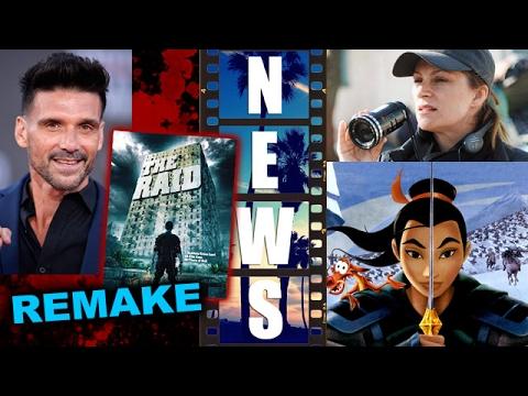 The Raid Remake with Joe Carnahan & Frank Grillo, Niki Caro to direct Disney's Live Action Mulan