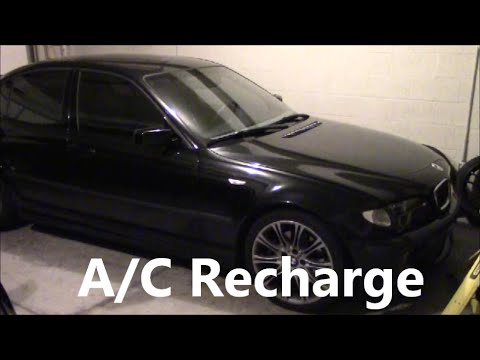 How To Recharge Air Conditioning Bmw 3 Series E46 A C